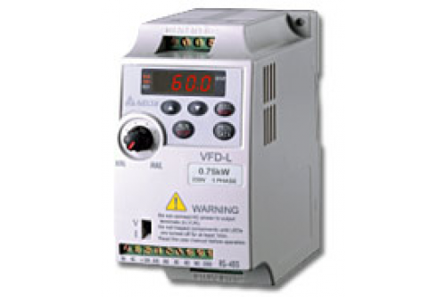 Преобразователь частоты Delta Electronics VFD001L21B 0,06кВт 220В