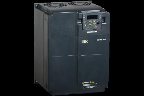 Частотный преобразователь IEK CONTROL серии A310 380В 3Ф 22кВт 45A со встроенным тормозом и дросселем постоянного тока