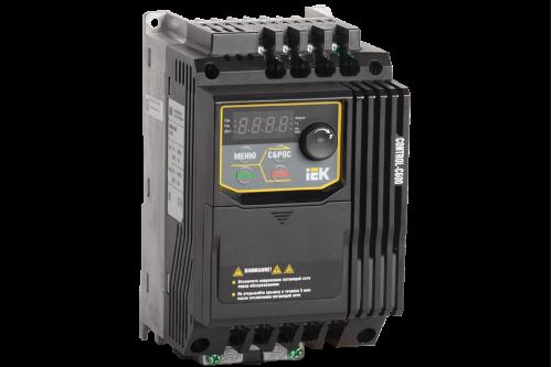 Частотный преобразователь IEK CONTROL серии C600 380В 3Ф 3,7кВт