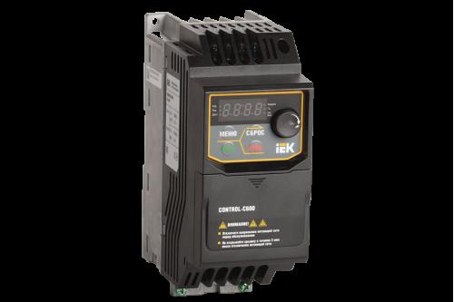 Частотный преобразователь IEK CONTROL серии C600 380В 3Ф 0,40кВт