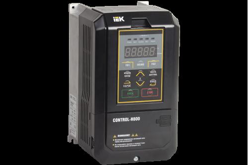 Частотный преобразователь IEK CONTROL серии H800 380В 3Ф 7,5-11кВт