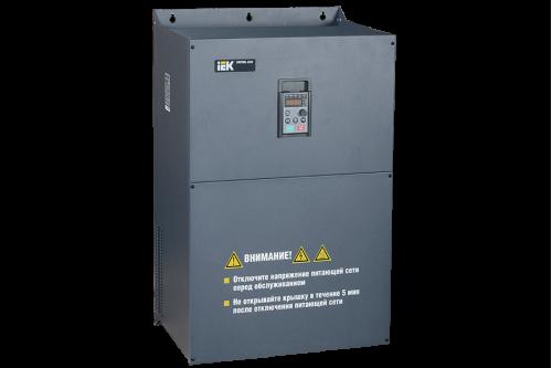 Частотный преобразователь IEK CONTROL серии L620 380В 3Ф 110-132кВт 210-253A