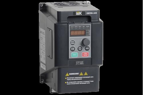 Частотный преобразователь IEK CONTROL серии L620 380В 3Ф 0,75-1,5кВт